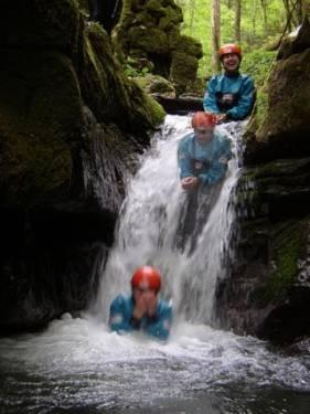 Canyoning - Devil's passage